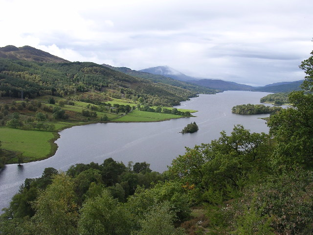 The 'Queen's View', Loch Tummel