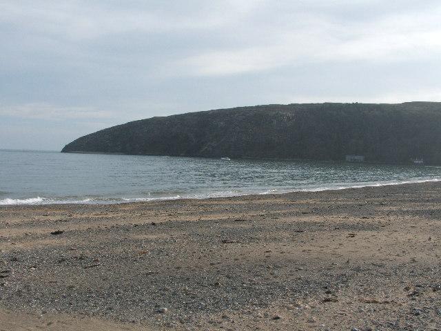 Llanbedrog Beach.