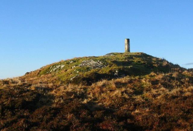 Summit of Ardsheil Hill.