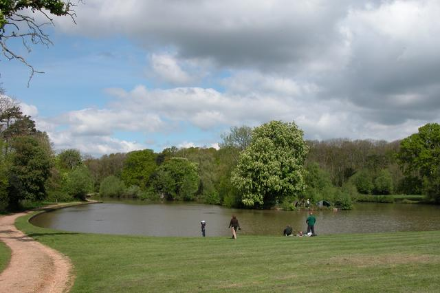 Fishing in Staunton Country Park