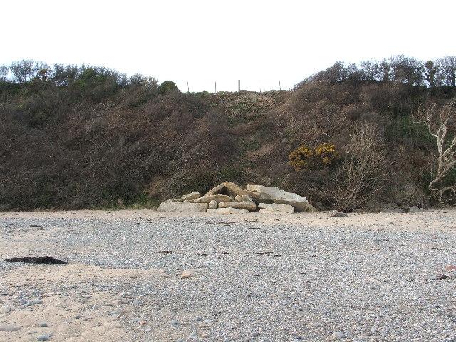 Cliff Erosion Llanbedrog Beach