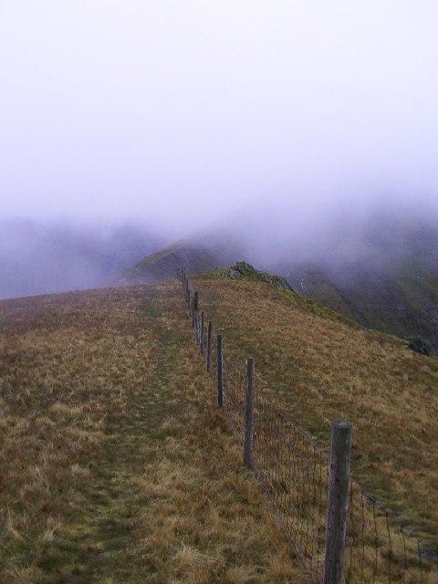 Summit of Mynydd Perfedd