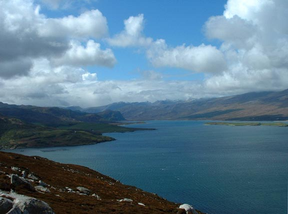 View down Loch Eriboll