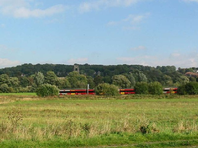 Railway from Kirkstall Lock