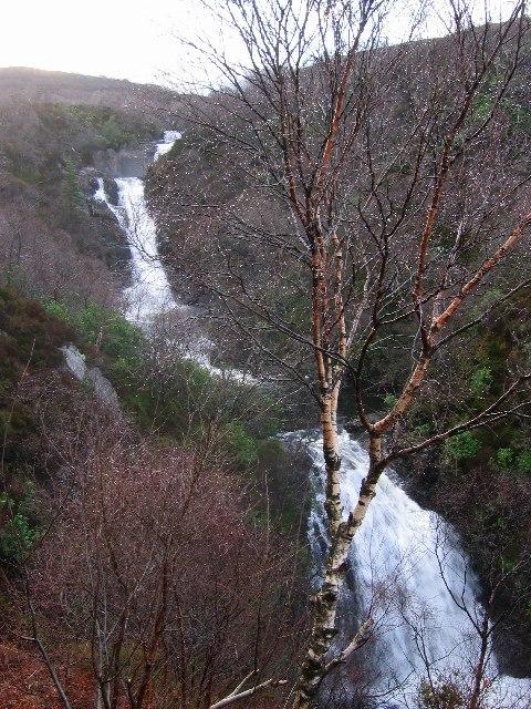 Glen Righ Falls