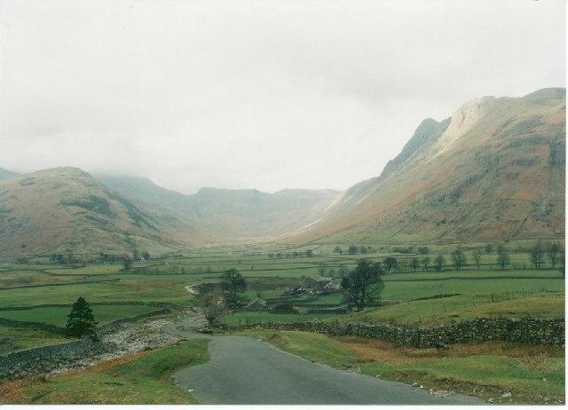 Upper Langdale Valley