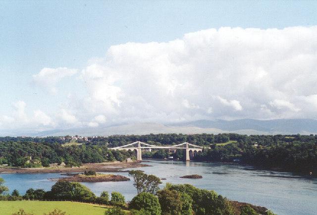 Pont y Borth - Menai Suspension Bridge