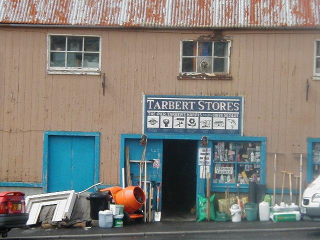 Tarbert Stores, Isle of Harris