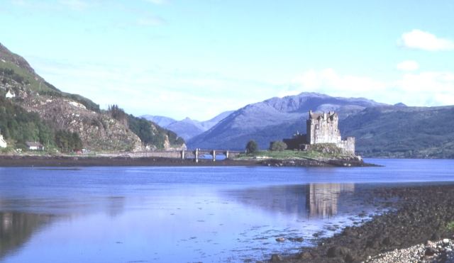 Eilean Donan Castle from Ardelve Point