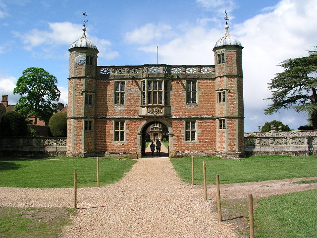 The Gatehouse of Charlecote Park