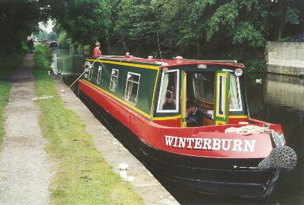 Canal Boat at Gargrave