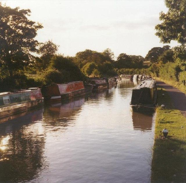 The Grand Union Canal near Stoke Bruerne