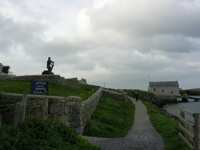 Moelfre Seawatch Centre and Lifeboat Station
