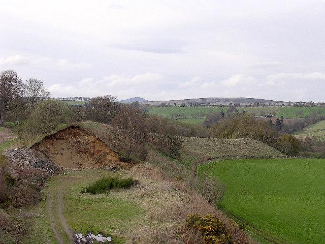 Esker near Bridge of Cally