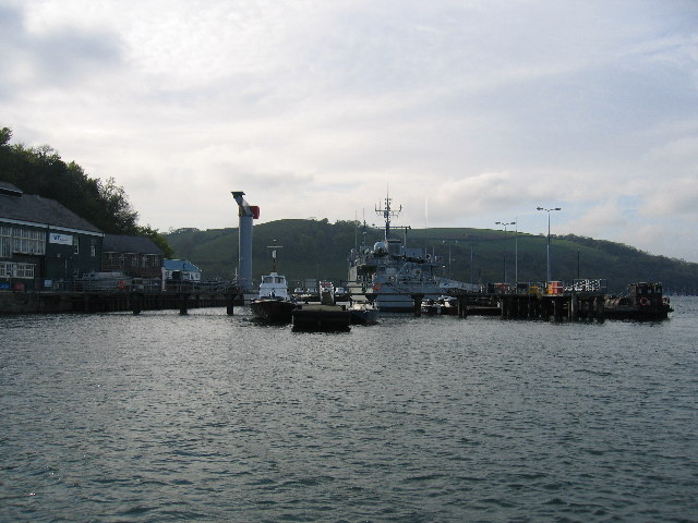 Dartmouth Naval yard
