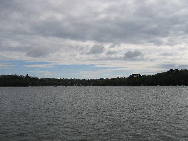 River Dart looking towards Galmpton Creek