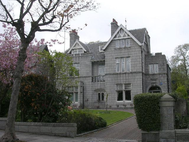 Granite villas, Rubislaw, Aberdeen
