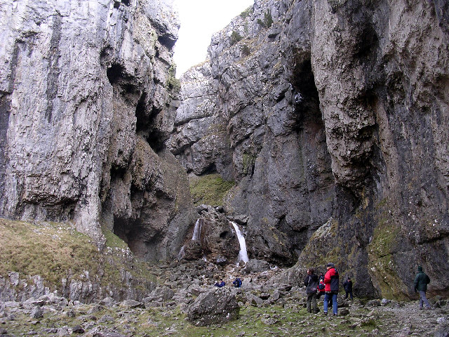 Waterfalls, Gordale Scar