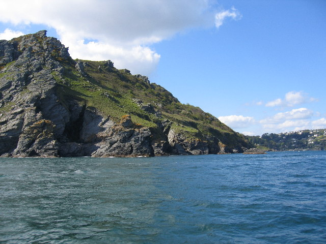 Coastline from Starehole Bay towards Salcombe