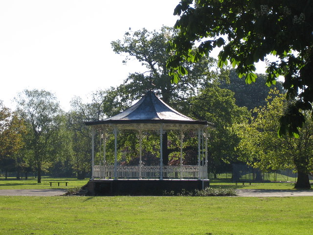 The Bandstand in Town Hall Park, Hayes