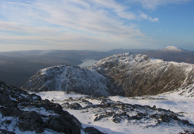Summit of Sron a'Choire Bhig