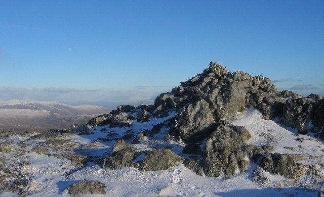 Summit, Garbh-bheinn.