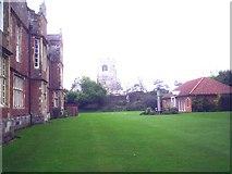 TA1063 : Burton Agnes Hall and Church by Derek Hayden