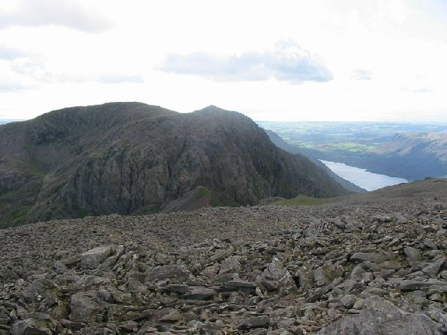 South from Scafell Pike