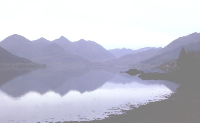 Loch Duich from Lettefearn
