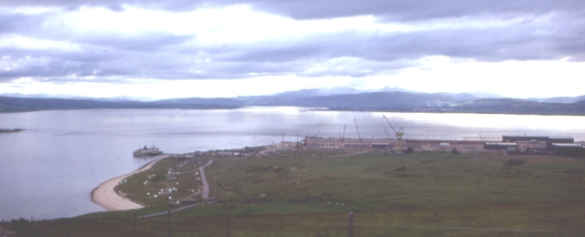 Nigg Bay and Cromarty Firth