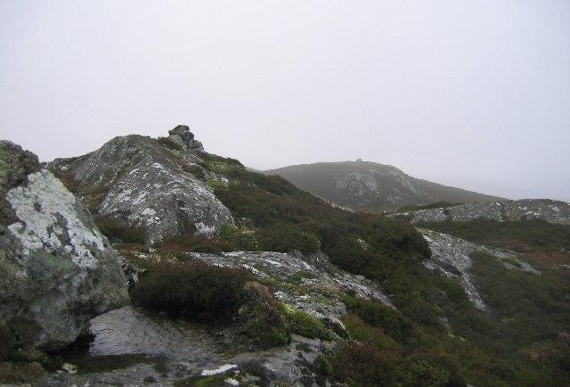 Summit of Stac na Cathaig