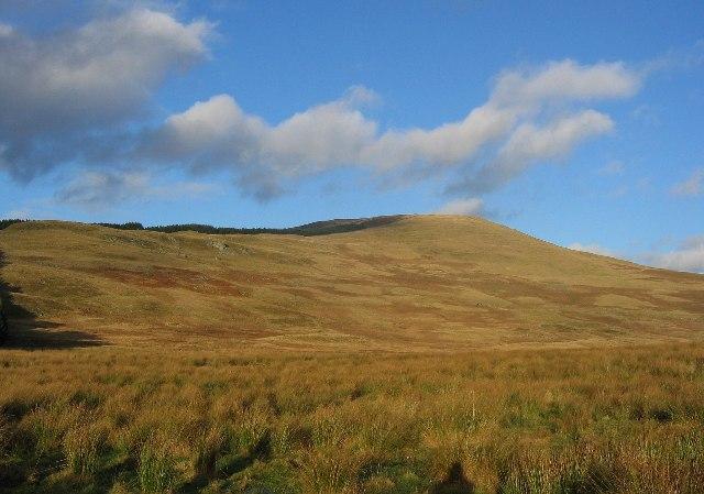 Wetland under Duchray Hill