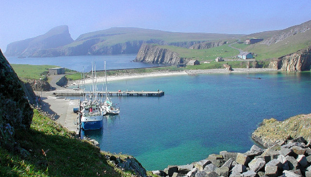 Fair Isle, North Haven © Dave Wheeler :: Geograph Britain and Ireland
