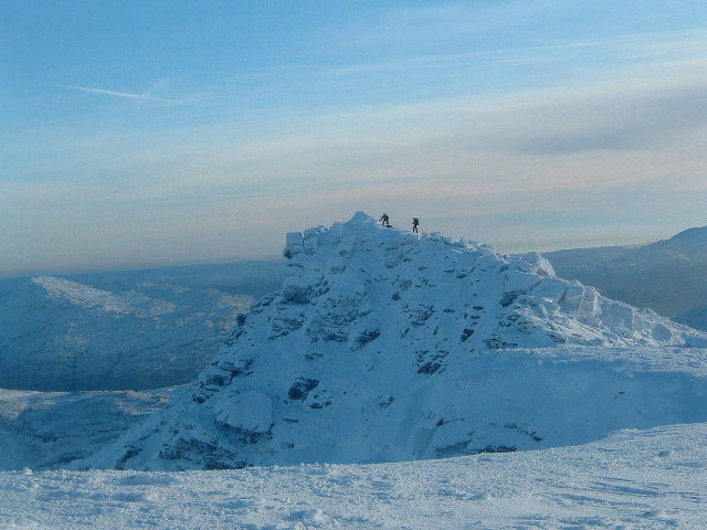 Summit of Ben Lui New Year (almost)
