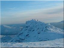 NN2626 : Summit of Ben Lui New Year (almost) by paul birrell