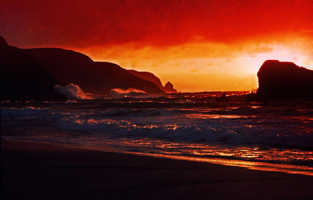 Kearvaig Beach looking towards Cape Wrath