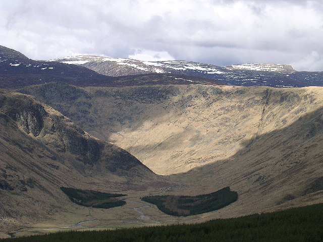 The view from Red Craig