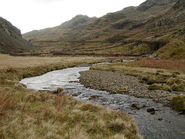 Afon Nant Peris, Snowdonia