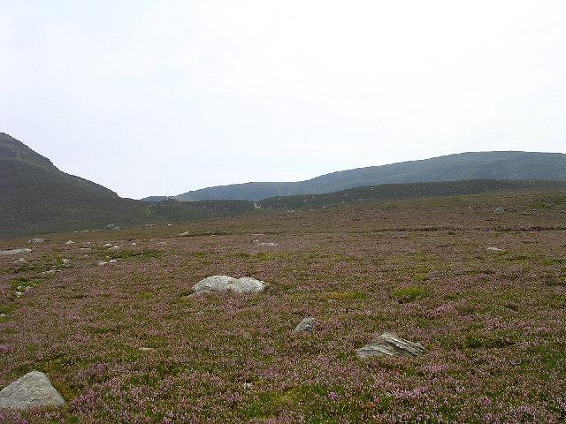 Approaching Loch Brandy