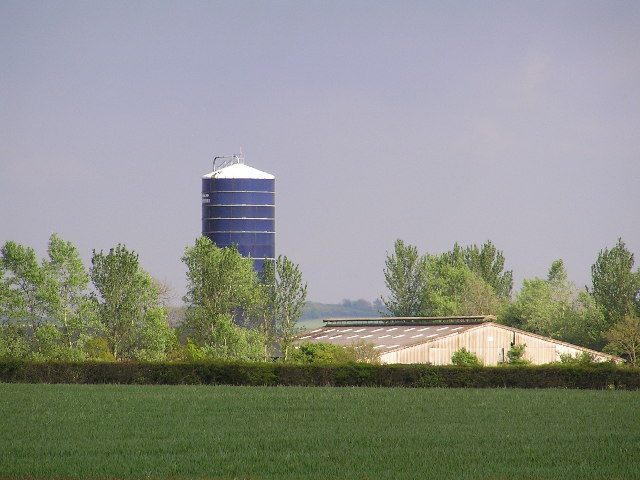 Tower silo at Moorend Barn.