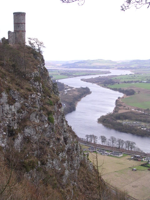 Kinnoull Hill and the River Tay
