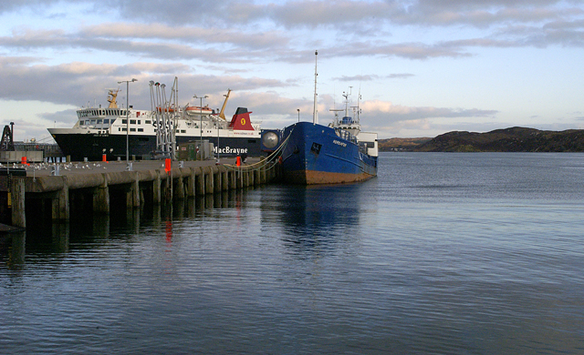 Stornoway Ferry and Fuelling Berth