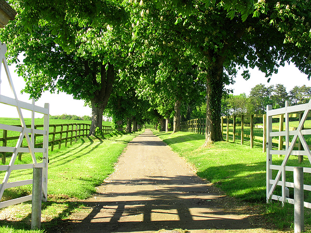 Entrance to Wyld Court Stud