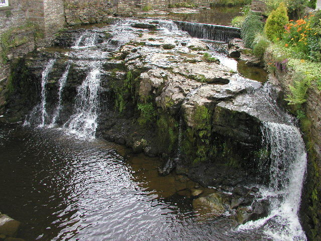 The river in Hawes