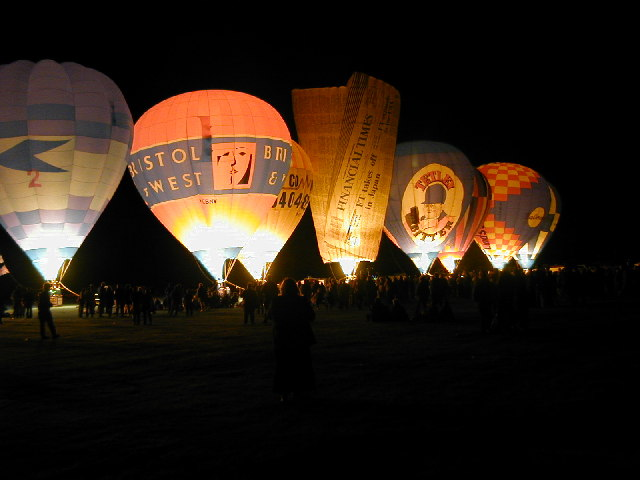 West Country Balloon Festival, Tavistock