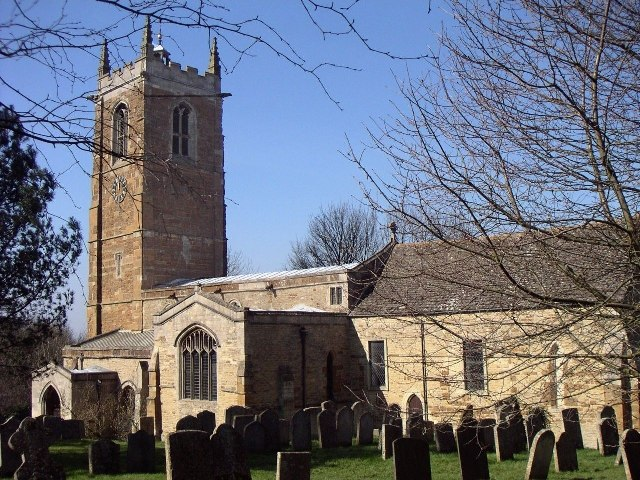St James' Church, Gretton, Northamptonshire