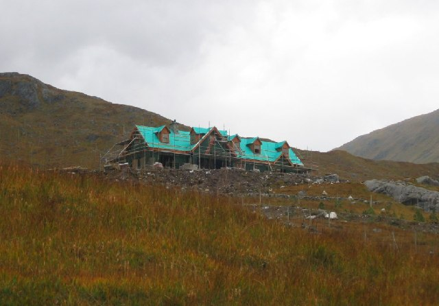 The new Lodge, Glen Dessarry