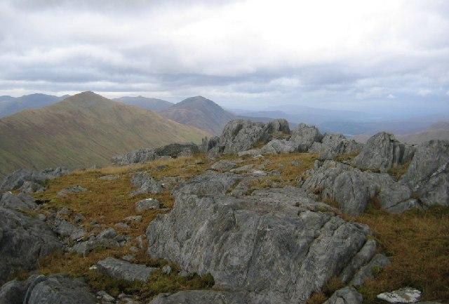 A summit, Druim a'Chuirn