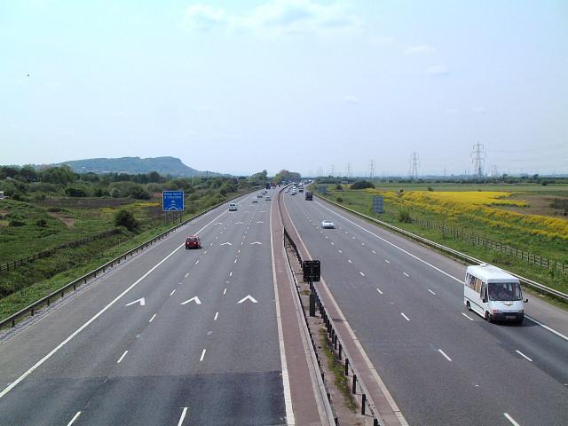 M56 near Frodsham
