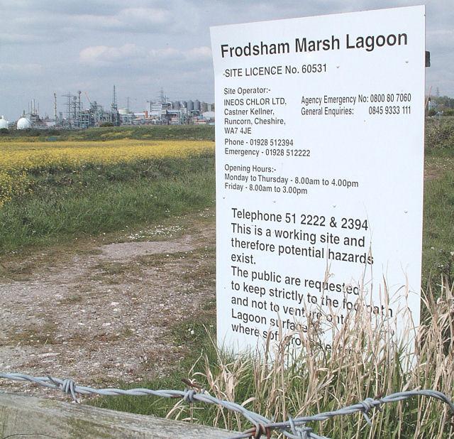 Frodsham Marsh Lagoon